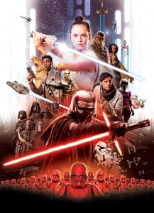 FOTOTAPETA 4-4113 Star Wars Movie Poster Rey