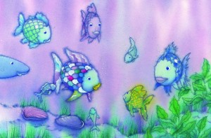 Fototapeta 683 The Rainbow Fish GIANT ART