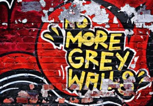 Fototapeta 126 No More Grey Walls
